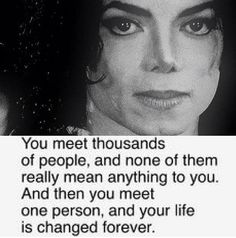 I am so thankful that Michael is in my life. He's made me who I am today! <3