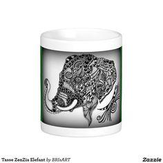 Tasse ZenZia Elefant Mugs, Tableware, Shop, Dinnerware, Tumblers, Tablewares, Mug, Dishes, Place Settings