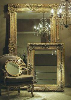 beautifully framed mirrors