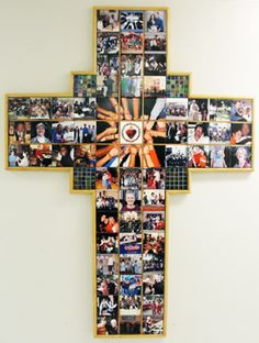 Photo cross--thus could be a cool auction project! Do this for Relay! Classroom Auction Projects, Art Auction Projects, Class Art Projects, Collaborative Art Projects, Art Classroom, Auction Ideas, Class Auction Item, Auction Baskets, School Fundraisers