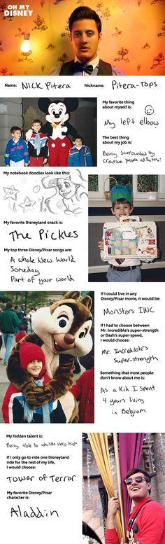 Nick Pitera Takes The Oh My Disney Quiz | Oh My Disney
