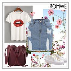 """""""Romwe 7"""" by ermina-camdzic ❤ liked on Polyvore featuring romwe"""