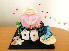 Gâteau Alice au Pays des Merveilles