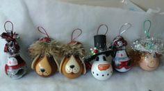 Christmas Bulbs, Oeuvres, Holiday Decor, Home Decor, Homemade Home Decor, Christmas Light Bulbs, Decoration Home, Interior Decorating