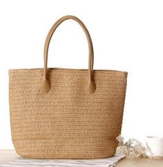 Bohemia Style Summer Fashion Designer Shopping Tote Beach Bag Knitted Straw handbags Shoulder Bag Purse Woven travel Bags Li373