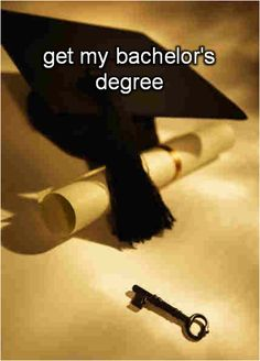 get my bachelor's degree