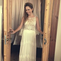 Boho chic bride