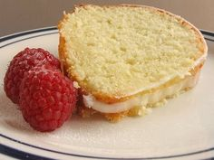 Sour Cream Lemon Cake .... possibly the best ever!