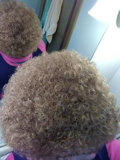 Tight Perms for Short Hair | Blond Poodle Perm | Short