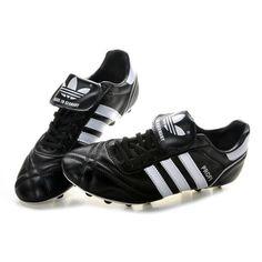 adidas Profi FG Mens Soccer Cleats - Black White - adidas Soccer . de5eb9cfee51