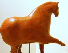 Art Sculptures, Equine Art, New Work, Behance, Gallery, Check, Red, Roof Rack, Horse Art