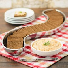 Liptauer Cheese Spread ~ First there's cream cheese and butter as ...