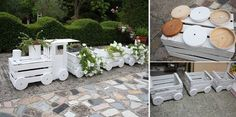 How to Build a Train Made Out Of Old Crates