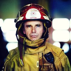 Firefighter  (front Page of DIGIPHOTO PRO magazine) by Benoit.P, via Flickr