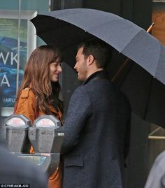 Back on set: Dakota, 26, and Jamie, 33, will reprise their roles from the original Fifty Shades of Grey