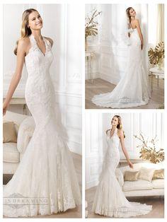 Exquisite Halter Neck Mermaid Wedding Dresses Featuring Applique http://www.ckdress.com/exquisite-halter-neck-mermaid-wedding-dresses-featuring-applique-p-318.html  #wedding #dresses #dress #lightindream #lightindreaming #wed #clothing #gown #weddingdresses #dressesonline #dressonline #bride