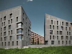 """29/07/2013 - Il progetto del Social Housing """"CasaNova"""" a Bolzano, di CDM ArchitettiAssociati, nasce da un concorso bandito dall'"""