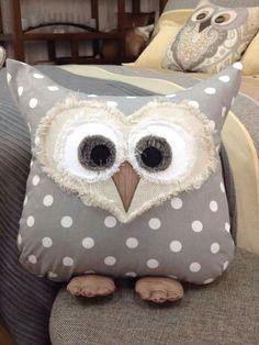 Too cute. Owl cushion