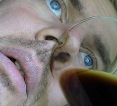 How to drink beer through your nose