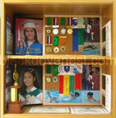 Recognition and Achievement Awards Display ~ Blackdove Nest