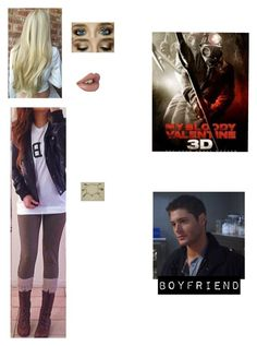 """""""Me in """"My Bloody Valentine"""""""" by nerdbucket ❤ liked on Polyvore"""