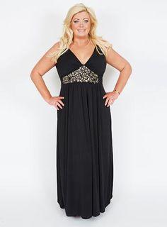 Gemma Collins Embellished Maxi Dress