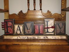 Family Sign Personalized and Customized by PunkinSeedProduction, $42.00