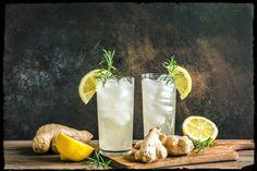 10 Fat Burning Drinks Before Bed - onefiy Best Food Processor, Food Processor Recipes, Apple Cider Cleanse, Effects Of Ginger, Vegetable Slice, Sparkling Mineral Water, Post Workout Drink, Ginger Lemonade, Drinks Before Bed