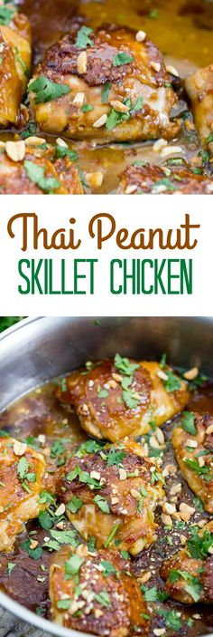 Thai Peanut Skillet