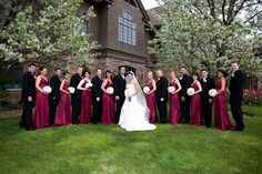 Real Brides in Jim Hjelm Occasions style 5772    http://www.jlmcouture.com/Jim-Hjelm-Occasions/Bridesmaid/Additional/Style-5772