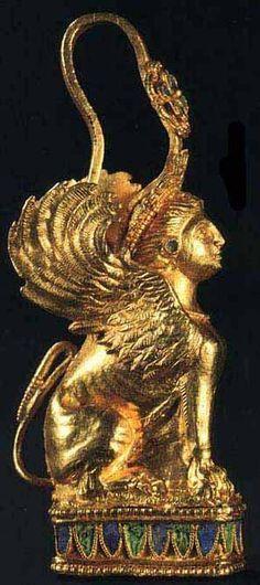 Скифы и их золото <b>Серьга</b>