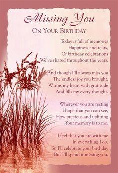 Birthday Wishes in Heaven | Graveside Bereavement Memorial Cards B Variety You Choose | eBay