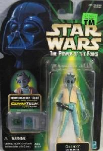Star Wars POTF CommTech- Greedo  $8.65