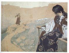 Vardges Surenyants. Illustration for Armenian Folk Tales. c. 1906-1916.