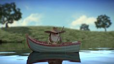 The Fisherman and the Fly - Independent animation studios in Sao Paulo Brazil, Big Studios' newest project
