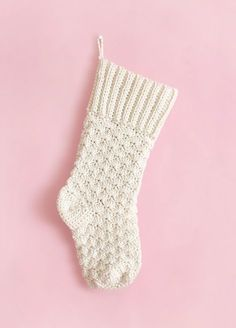 Crochet your own beautiful Christmas stockings this year with this free crochet stocking pattern. Baby Christmas Stocking, Knitted Christmas Stocking Patterns, Crochet Stocking, Knitted Christmas Stockings, Xmas Stockings, Christmas Knitting, Crochet Ornaments, Crochet Snowflakes, Crochet Socks
