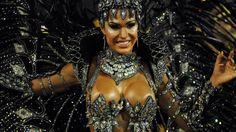 Gracyanne Barbosa, rainha de bateria da Unidos da Tijuca, no Rio de Janeiro
