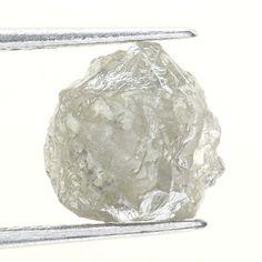 1.53 Carats Silver Natural Uncut Raw ROUGH DIAMOND
