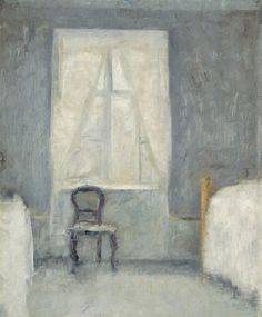 Interior with Chair by Vilhelm Hammershøi | Art Posters