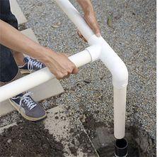 HOME DZINE Garden | Gazebo made from PVC pipes