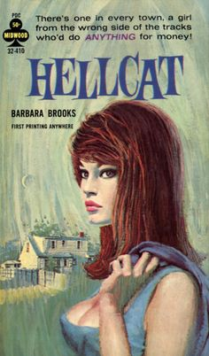 hellcat - from the wrong side of the tracks vintage pulp fiction