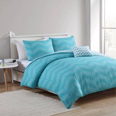 product image for VCNY Stella 4-Piece Reversible Comforter Set