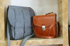 El bolso Seta junto con el 3 Hebillas/ www.puntera.com/  #artesanía #piel #cuero #leather