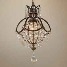 "Murray Feiss Bellini Collection 8 3/4"" Wide Mini Chandelier  Style # N6563 (282)"