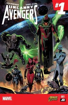 Uncanny Avengers (2015-) #1: COUNTER-EVOLUTIONARY PART 1 From the ashes of AXIS an all-new, all different Avengers assemble! The tragedy at the end of AXIS has left the Uncanny Avengers vulnerable, and someone is taking advantage of it. One of the Avengers' oldest foes returns with a terrible secret that will, all hyperbole aside, shatter the lives of two members of the squad. What is Counter-Earth? What terrible secrets does it house?