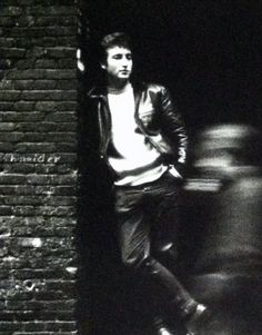 John Lennon In A Doorway In Hamburg Germany. door ILuvBelleArte