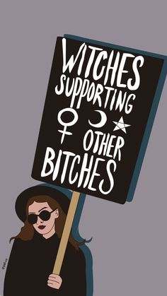 Witches - My best wallpaper list Witch Wallpaper, Halloween Wallpaper, Cute Wallpapers, Wallpaper Backgrounds, Iphone Wallpaper, Feminist Quotes, Feminist Art, Witch Art, Witch Aesthetic