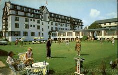 The Old Warren Hotel in Spring Lake - miss it! However this looks to be pre-Pool Bar days.
