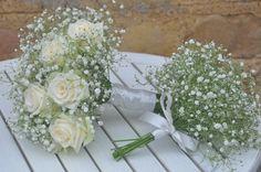 Gypsophila bouquet and posy