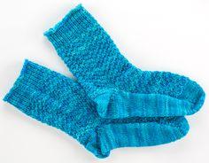 Tippy Toe Socks - Free Loom Knitting Pattern